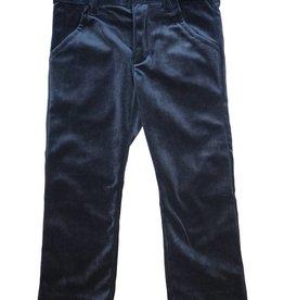 Little Cocoon Velvet Slim Pant Black