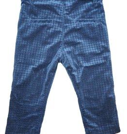 Little Cocoon Velvet Slim Pant Navy