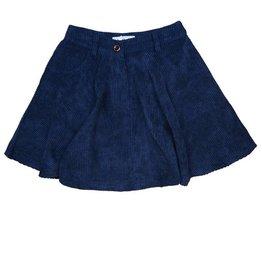 Mis MeMe Navy corduroy skirt