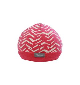 Coccoli Cotton Cap Pink Zig Zag