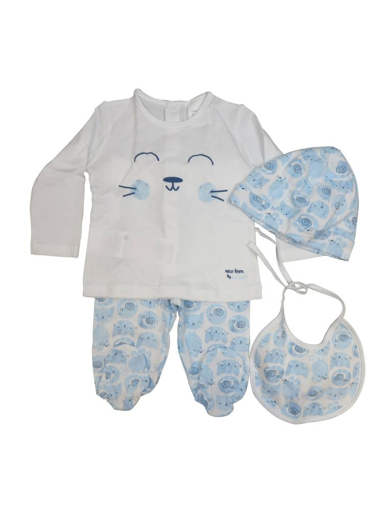 Boboli 4 Pieces With Gift Case Lollipop Kids Boutique