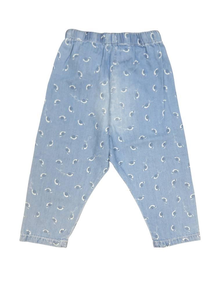 Boboli Boys Denim Pants W/ Snails