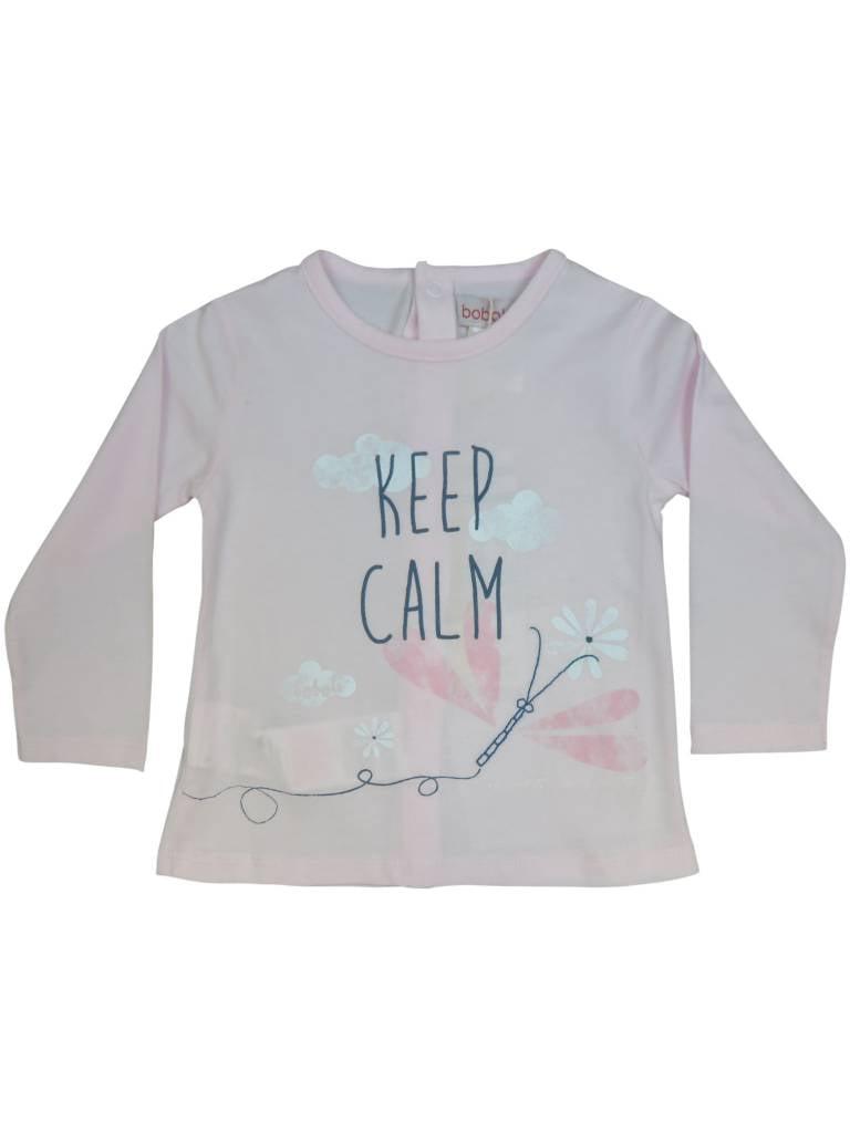 Boboli Girls T-shirt Keep Calm