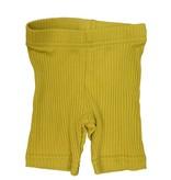 Crew Kids Ribbed Leggings Mustard