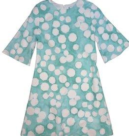 Indigo Girls Dress:Flutter Sleeve Dress Mint