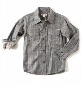 Appaman Mason Shirt Slate Stripe