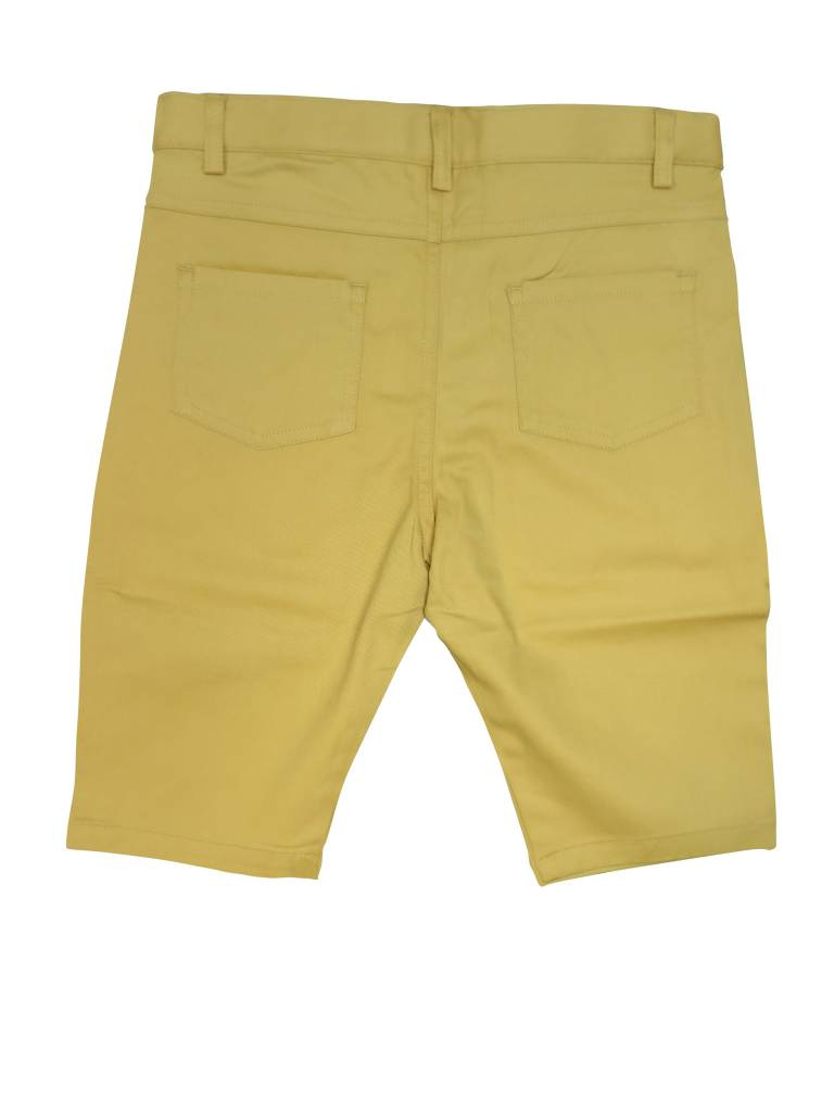 Crew Kids Short Chino Mustard