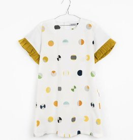 MOTORETA MAR DRESS Colour dots print