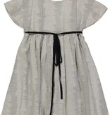 Belati Textured wrap dress