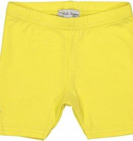 Lil leggs Lil leggs Short Leggings Yellow ss18