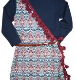 Carlucci vintage envelope dress