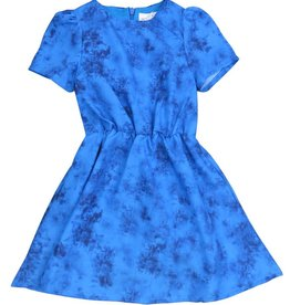 ColorFly MARBLE DRESS BLUE