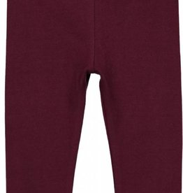 Lil leggs Plum Long Leggings fw18