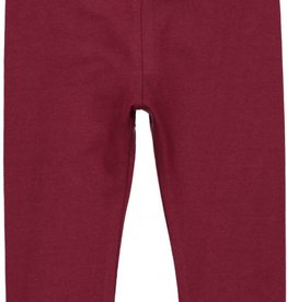 Lil leggs Burgundy Long Leggings fw18