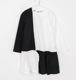 MOTORETA Flapper Dress Black & White