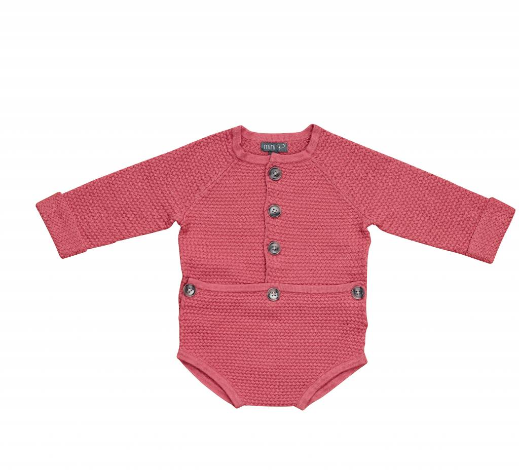 pompomme Baby Onsie Rose