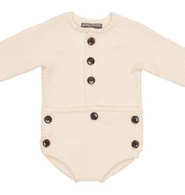 pompomme Baby Onsie Off White
