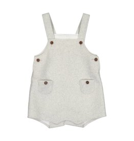 EURO CLUB COLLECTIONS HAIRY WOOL BABY ROMPER WITH IVORY