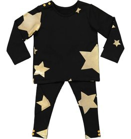 Teela BABY Star Set Black/Gold