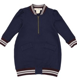 Teela CLOE Bomber Dress Navy