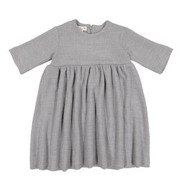 Teela KATE Cable Knit Dress Grey