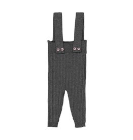 Belati Ribbed Suspender Pants Grey