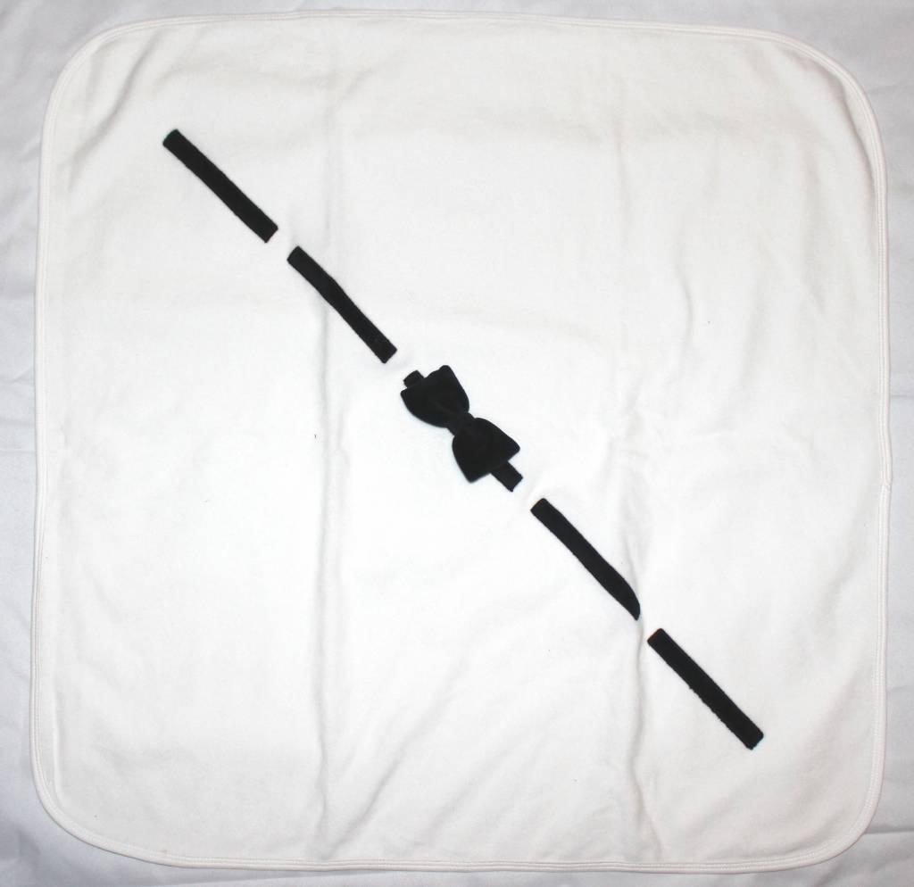 Mon Tresor Bebe Bow Couture Blanket
