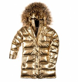 Appaman Long Down Coat Antique Gold