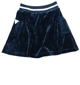 Crew Kids Short Velour Skirt Black