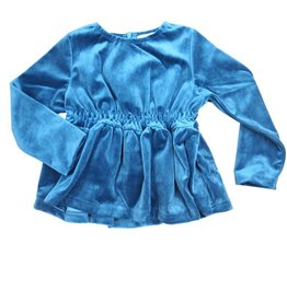 Whitlow & Hawkins Velvet Baby Girl Top