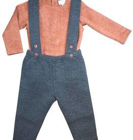 Whitlow & Hawkins Herringbone Baby Boy Set