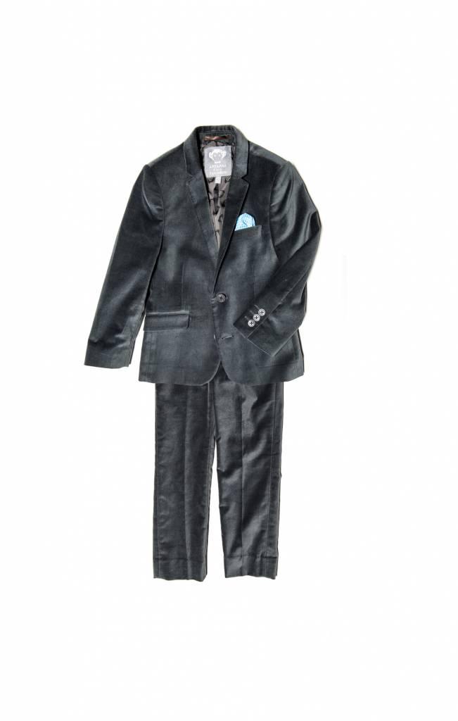 Appaman 2 Peice Mod Suit Vintage Black Velvet