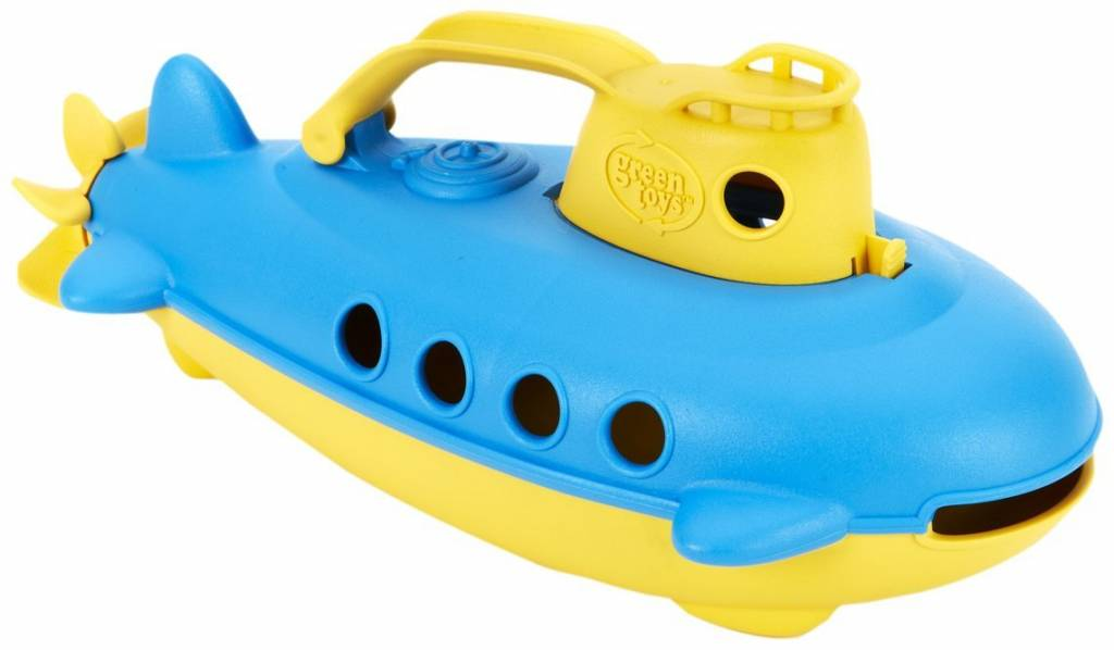 Green Toys Green Toys Yellow Cabin Submarine