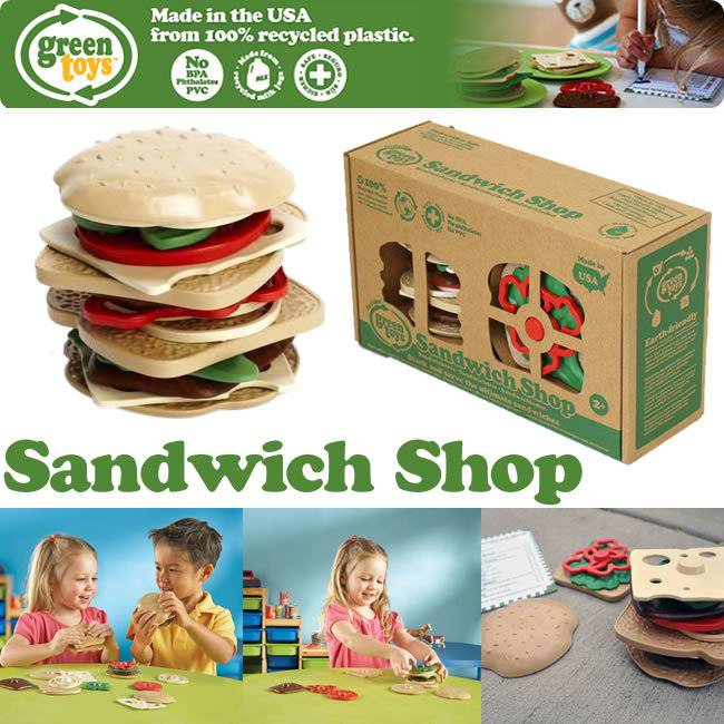 Green Toys Green Toys Sandwich Shop