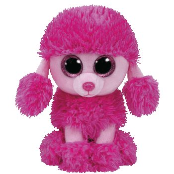 """TY Beanie Boos - Patsy Small 6"""" (Pink Poodle)"""