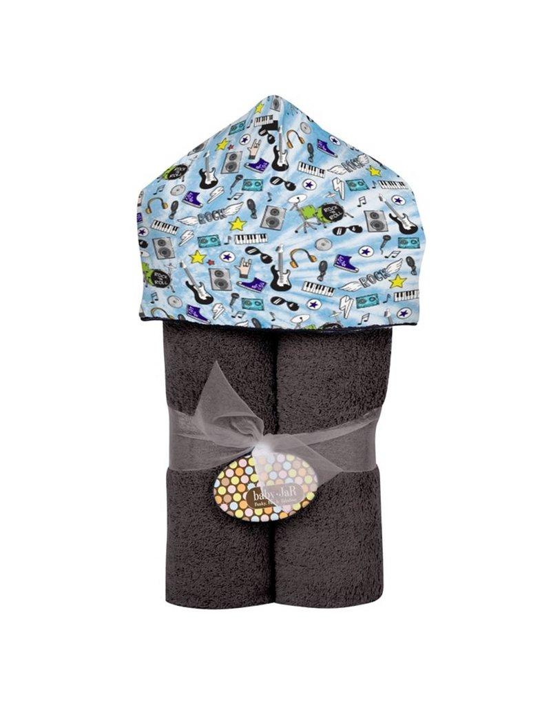 Baby Jar Rock' N Roll Hooded Towel