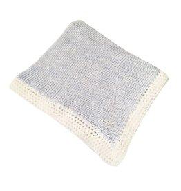 Gita Blue Heather Blanket