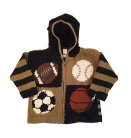 Sports Zip Sweater