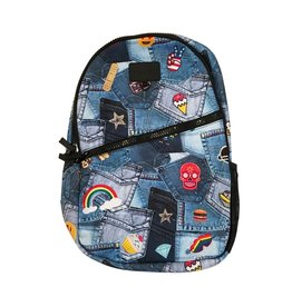 Terez Denim Patches Backpack