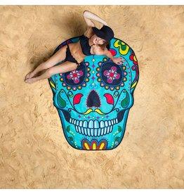 Oversized Skull Beach Blanket