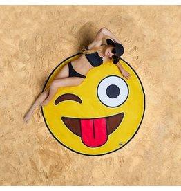 Oversized Emoji Beach Blanket