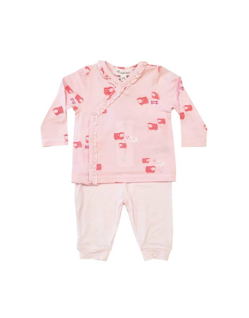 Angel Dear Little Bo Peep Kimono 2pc Set