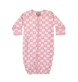 Coccoli Checkered Hearts Gown