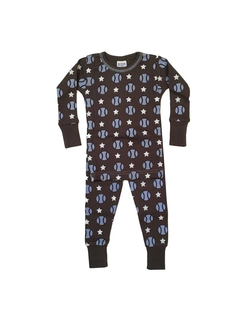 Baby Steps Baseball PJ Set