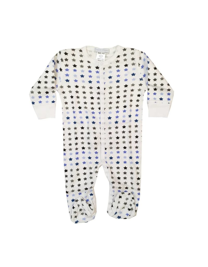Baby Steps Chromatic Stars Footie