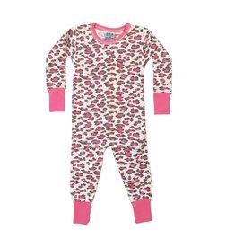 Baby Steps Pink Leopard PJ Set