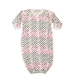 Baby Steps Pink Chromatic Hearts Gown