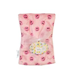 Baby Jar Pink Smiley Burp