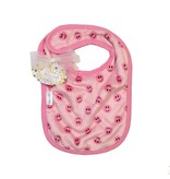 Baby Jar Pink Smiley Bib