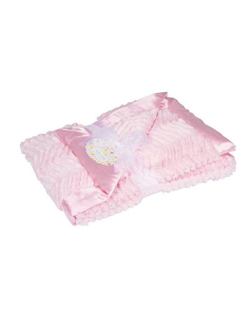 Baby Jar Dreamy Luxe Pink Blanket